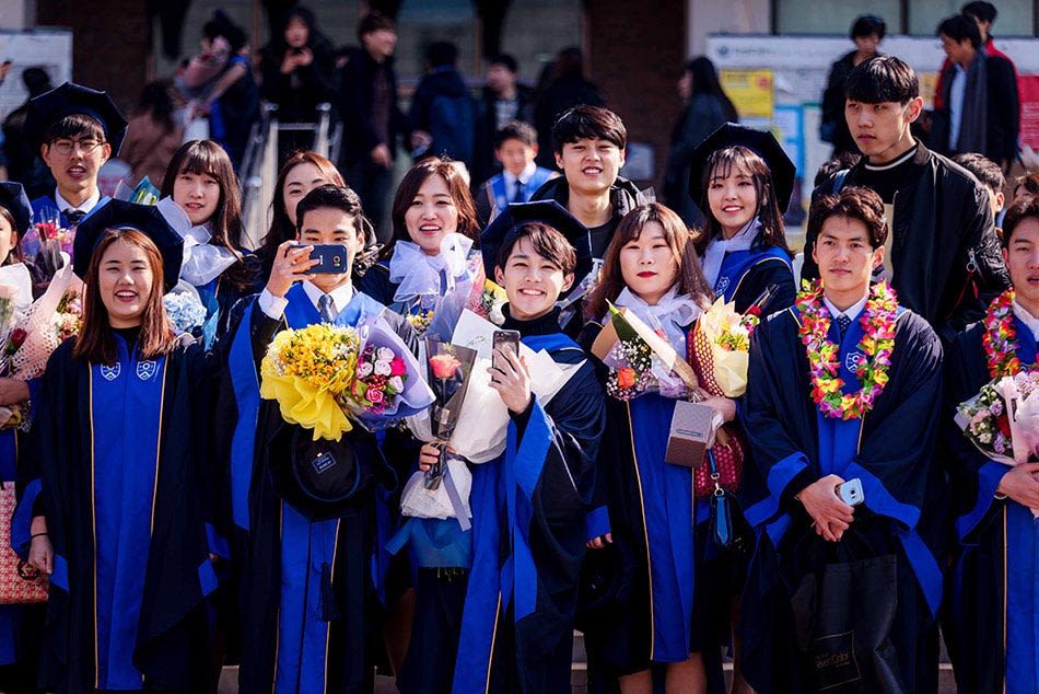 Study in Korea from Nepal Morocco Philippines